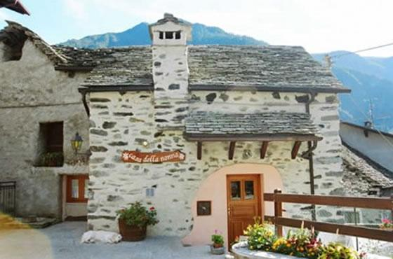 Bed and breakfast valle antrona - Riscaldamento naturale della casa ...